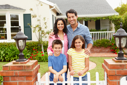 Dillingham Insurance happy family client of personal insurance policies